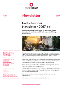 ENGIN-DENIZ Newsletter